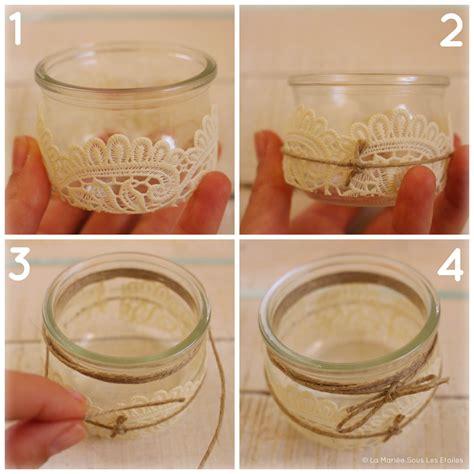 photophore pot en verre photophore en verre diy crafts