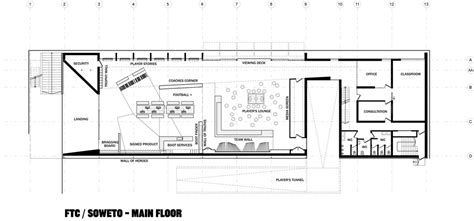 Football Locker Room Floor Plans