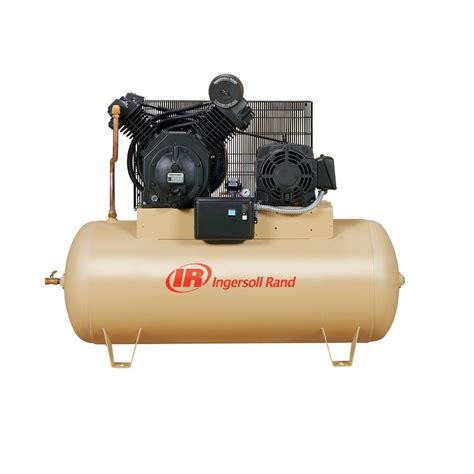 ingersoll rand type 30 reciprocating 120 gal 10 hp electric 460 volt 3 phase air compressor