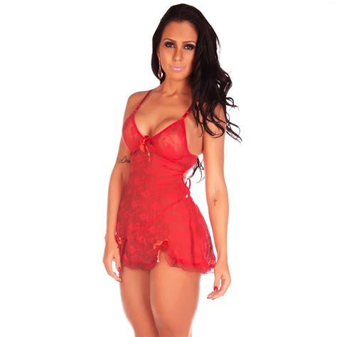 Camisola Em Tully Sex Andréia Camisolas Sexys Sensuais R 3790 Em Mercado Livre