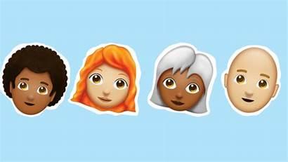 Emojis Emoji Hair Types Hairstyles Bald Glamour
