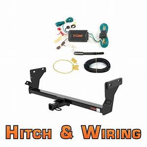 Curt Class 1 Trailer Hitch  U0026 Wiring For 2007