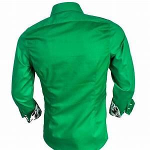 Mens Green Holiday Dress Shirts