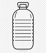 Clipart Bottle Water Colouring Plastic Bottles Coloring Pages Template Templates Sketch Webstockreview sketch template
