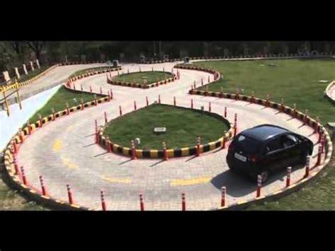 automated driving test track rto govt  gujarat