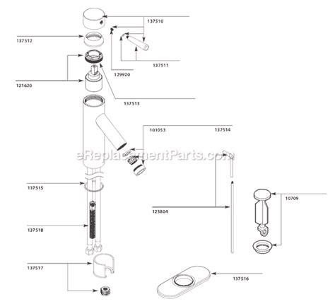 Moen Monticello Tub Faucet Diagram by Moen Monticello Shower Parts Diagram Smartdraw Diagrams