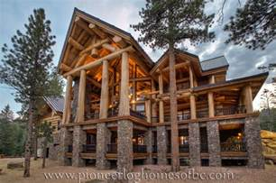 Birch Logs For Fireplace by Custom Log Homes Picture Gallery Bc Canada