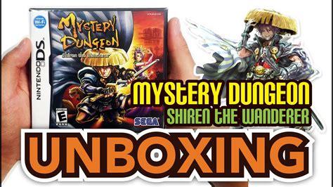 Shiren Premium mystery dungeon shiren the wanderer ds unboxing