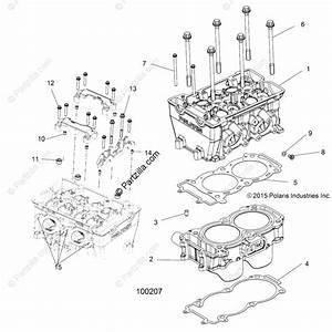 Polaris Atv 2016 Oem Parts Diagram For Engine
