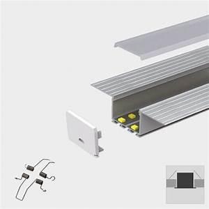 Plaster-in Recessed Slim LED Profile for LED Strip