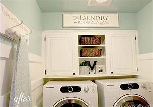 10 laundry room ideas for decoration and organization With best brand of paint for kitchen cabinets with laundry room wall art ideas