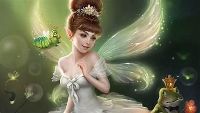 Wallpapers Fairies Fairy Desktop Prince Computer Frog