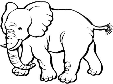 outline   elephant   clip art