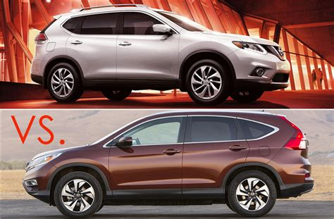 Crossover Vs Suv by 2016 Nissan Rogue Vs 2016 Honda Cr V What S The Best