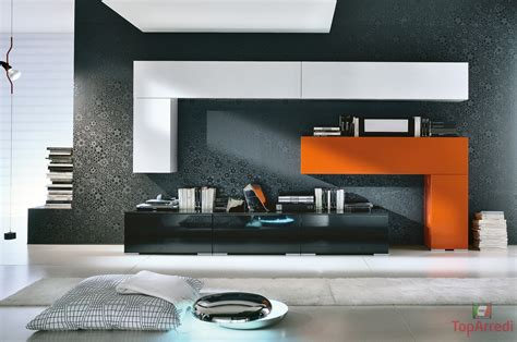 soggiorni colorati arredamento soggiorno moderno lix