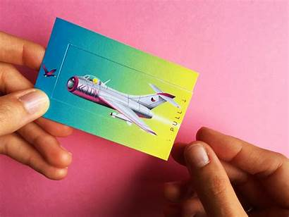 Business Card Interactive Behance Published Project