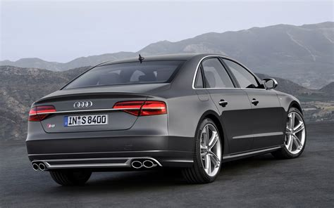 Audi A6 2015 Black Wallpaper