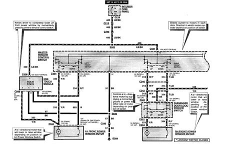 Power Windows Master Control Wiring Diagram Need