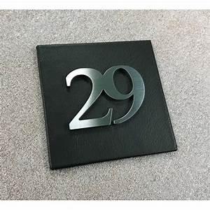 Plaque Numero Maison Personnalisé : plaque numero maison design numero maison design ~ Melissatoandfro.com Idées de Décoration