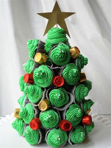 christmas tree shaped appetizers  desserts creative