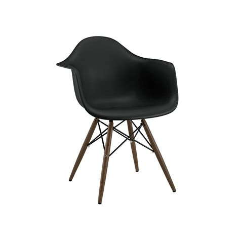 eames eiffel black arm chair tablebasedepot