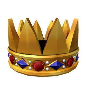 roblox crown hat