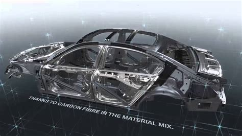 bmw  series carbon core structure youtube