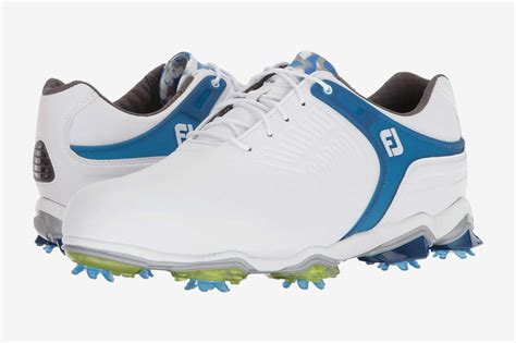golf shoes footjoy cleated saddle tour tpu strap strategist
