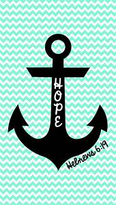 Cute chevron anchor wallpaper | Anchors | Pinterest | Hope ...