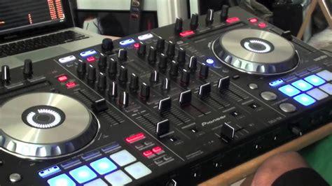 pioneer ddj sx tutorial mixing  dual decks part