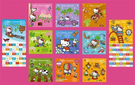 Hello Kitty, Hello Usa! 2006 Wall Calendar