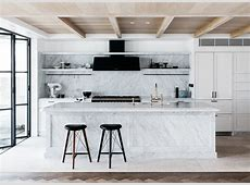Room of the Week A ToDieFor Marble Kitchen coco