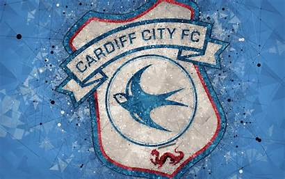 Cardiff Fc Background 4k Wallpapers Football Emblem