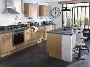 les 4 regles d39or d39une cuisine ouverte elle decoration With les plus belles cuisines ouvertes