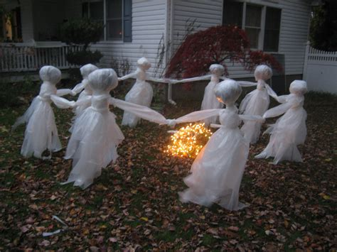 ghost decorations lawn ghost re post the pink pixie forest