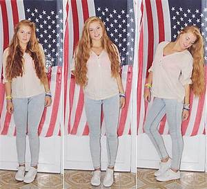 Katherine Roguska - H&M Shirt, Superga Sneakers - Royals ...