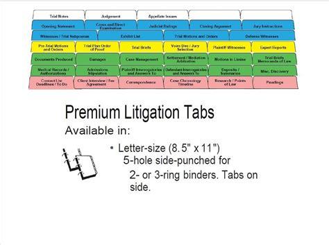 trial notebook template ultimate trial notebook