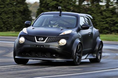 Nissan Juke-R hits the track   Autocar