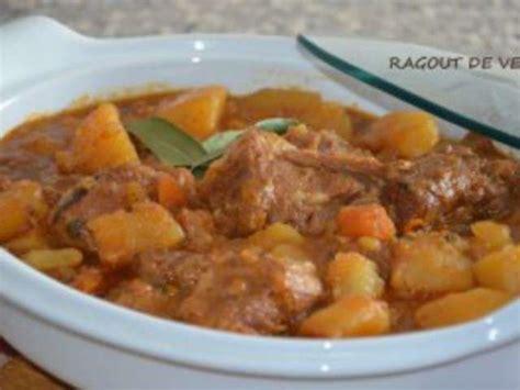 recettes de blanquette de veau et pomme de terre