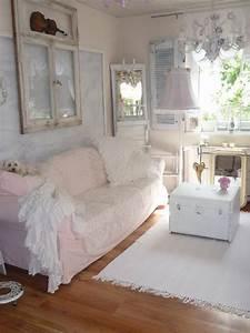 Shabby Chic Wohnzimmer : heavens ros cottage mehr wei e romantik im wohnzimmer windows pinterest shabby chic ~ Frokenaadalensverden.com Haus und Dekorationen