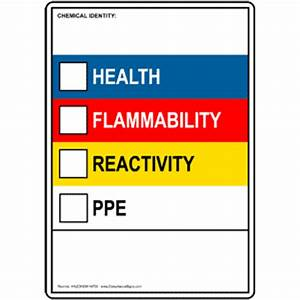 labels msds With chemical label template