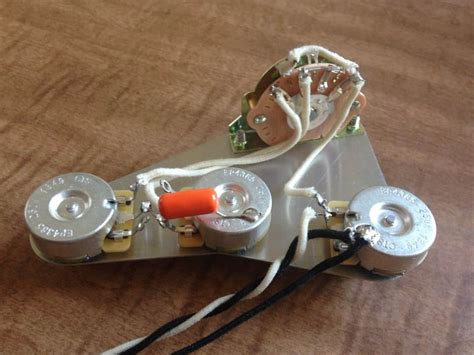Upgrade Wiring Harness For Fender Stratocaster Quality