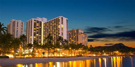 Waikiki Resort Hotel  Oahu Hotels  Marriott Hawaii