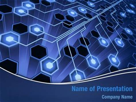Powerpoint Templates Computer Theme by Aerial Connection Powerpoint Templates Aerial Connection