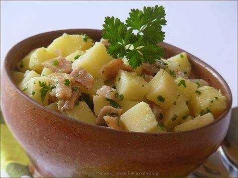 salade de pommes de terre au hareng pause gourmandises
