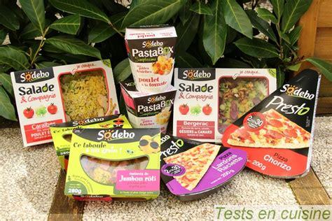 jeux fr cuisine pizza salades sodebo nouveautés printanières tests en cuisine