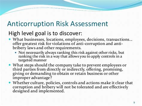 Anti corruption and bribery policy template costumepartyrun anti corruption and bribery policy template 101 anti corruption anti bribery risk assessment scce maxwellsz