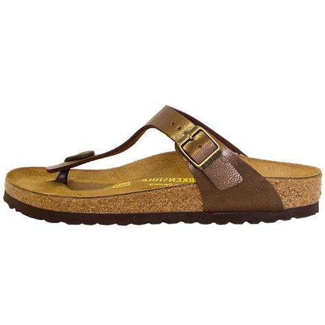 shoe stores birkenstock gizeh comfort sandals in