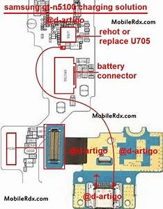 Repair Samsung Note Gt-n5100 Charging Problem