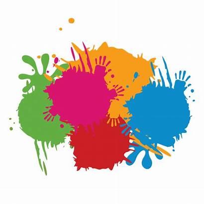 Splash Clipart Colorful Ink Transparent Graffiti Paint